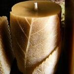 Byccombe Leaf Candle