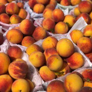 Engel Farms peaches