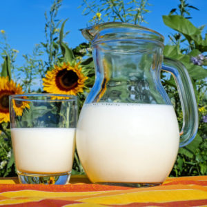 Market fresh unhomogenized milk
